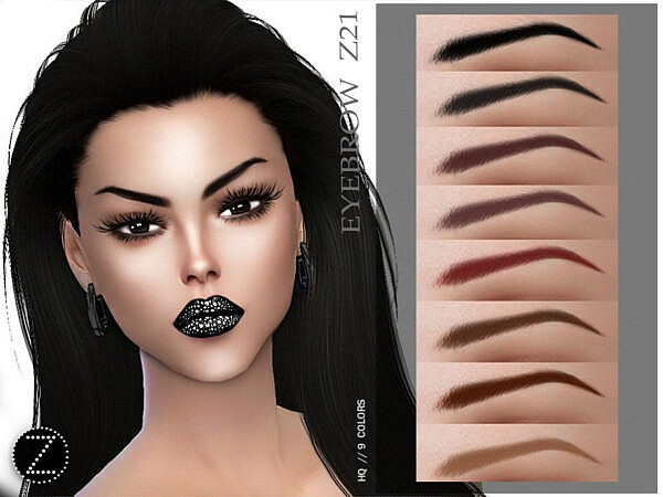 Eyebrow Z21 by ZENX from TSR