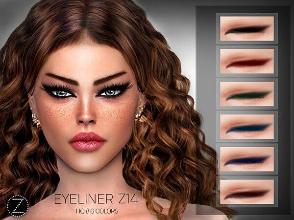 Eyeliner Z14 by ZENX from TSR