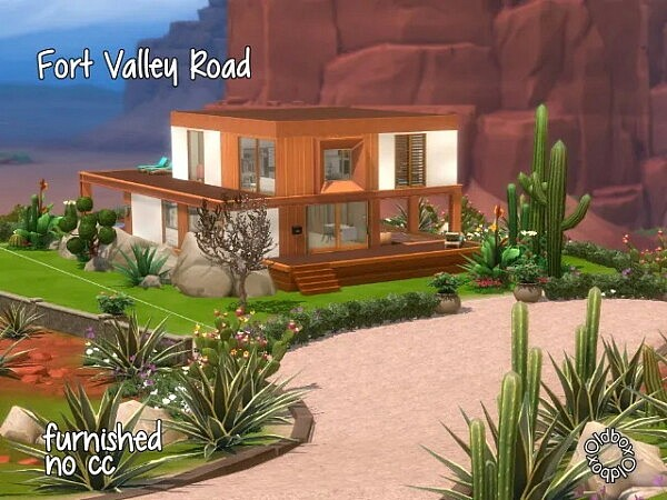 Fort Valley Road by Oldbox from All4Sims