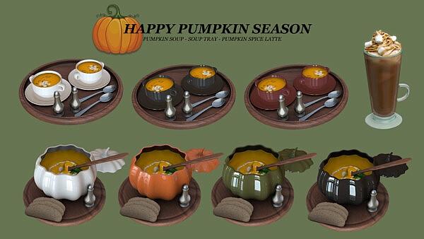 Happy Pumpkin Season from Leo 4 Sims