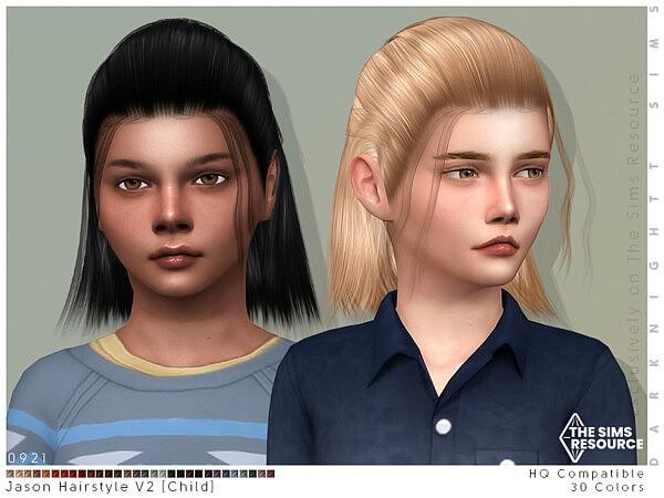 Jason Hairstyle V2 by DarkNighTt from TSR