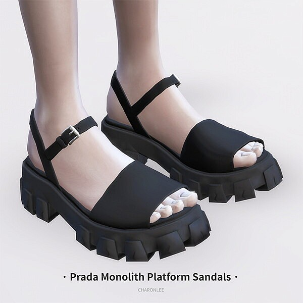 Monolith Platform Sandals from Charonlee