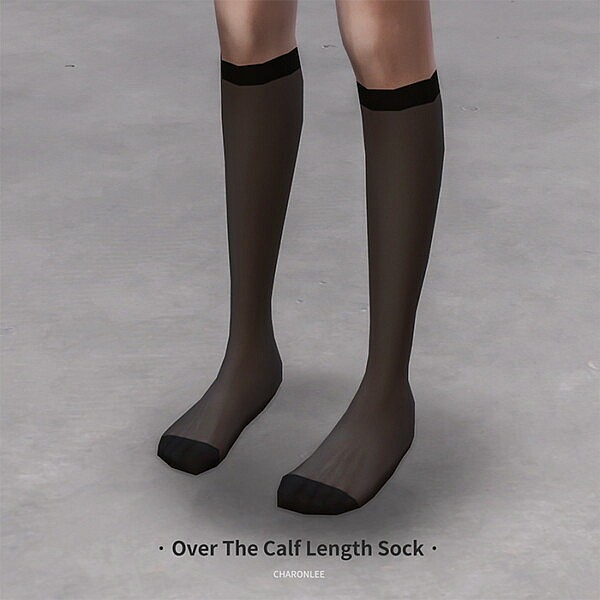 Over The Calf Length Sock from Charonlee