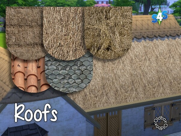 Roofs by Oldbox from All4Sims