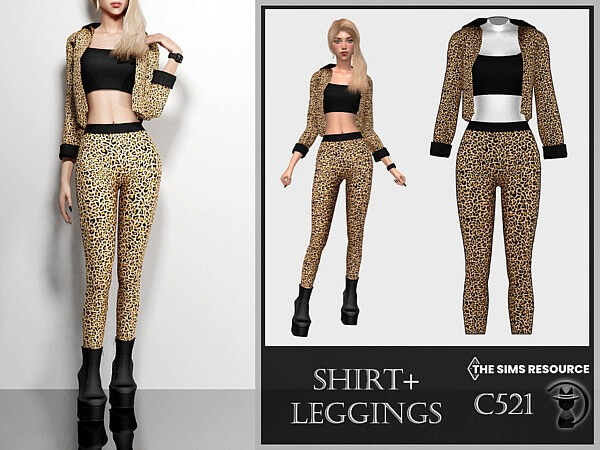 Shirt and Leggings by turksimmer from TSR