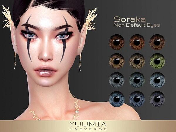 Soraka Non Default Eyes from Yuumia Universe CC