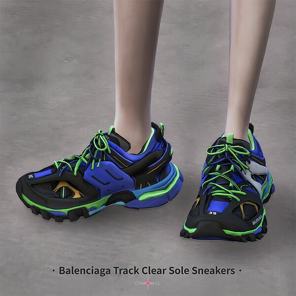 Track Clear Sole Sneakers from Charonlee