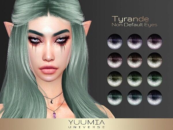 Tyrande Non Default Eyes from Yuumia Universe CC