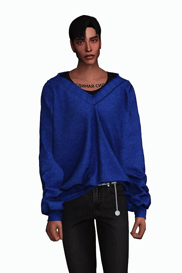 Layered V Neck Sweater from Gorilla