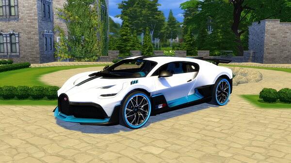 2019 Bugatti Divo from Lory Sims