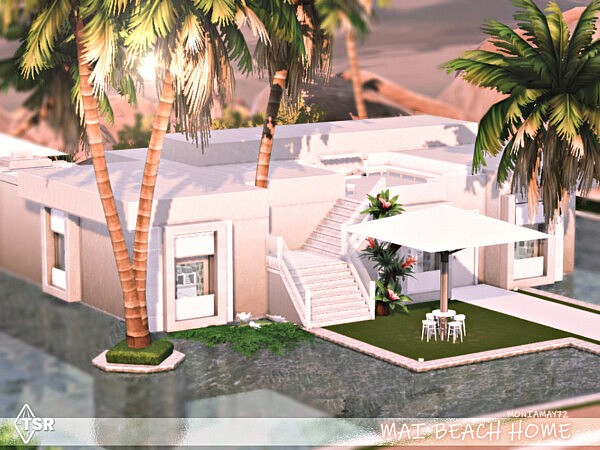 Mai Beach Home  by Moniamay72 from TSR