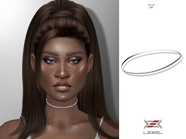 Icy Necklace V2 by LEXEL s from TSR