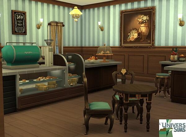 Le Petit Café de Louise by  anna501478 from Luniversims