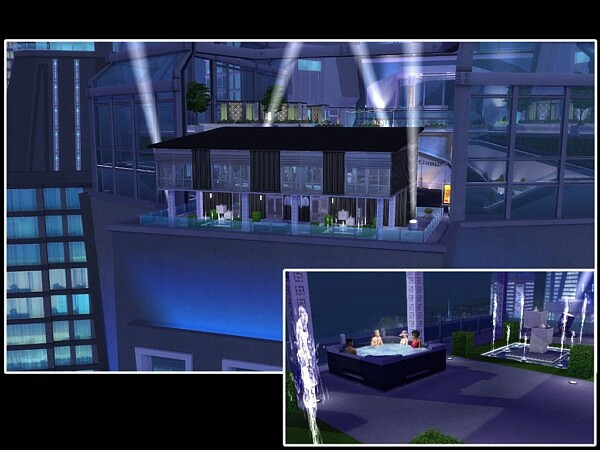 Space Invaders Nightclub by youlie25 from Mod The Sims