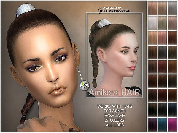 Amikos Hairstyle by BAkalia from TSR