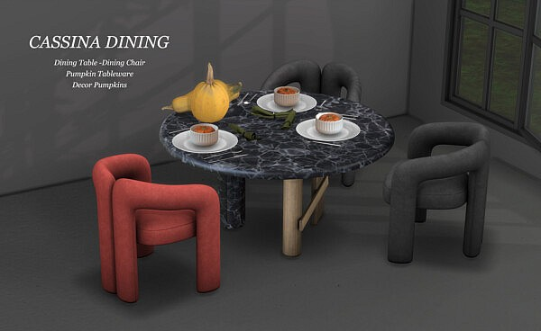 Cassina Dining from Leo 4 Sims