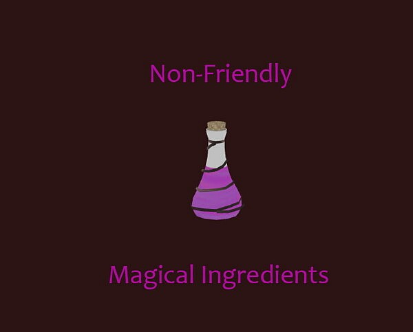 Dark Non Friendly Magical Ingredients by  Laurenbell2016 from Mod The Sims