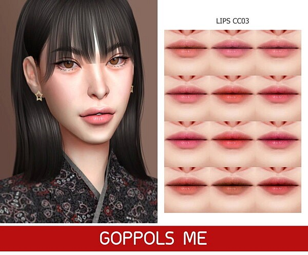 Gold Lips CC03 from GOPPOLS Me