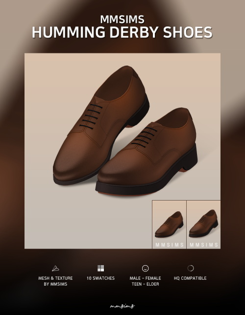 Humming Derby Shoes from MMSIMS