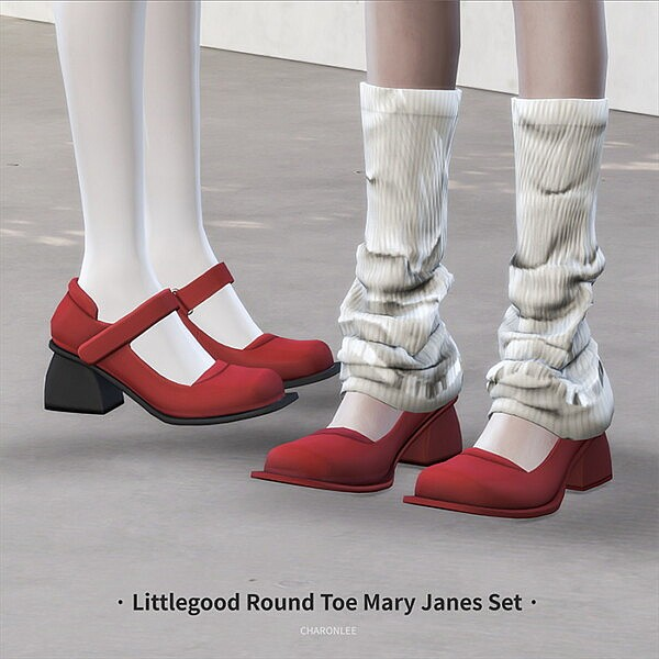 Round Toe Mary Janes from Charonlee
