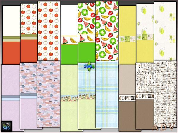 Wallpapers for Kidsroom from Arte Della Vita